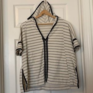 Madewell hooded top